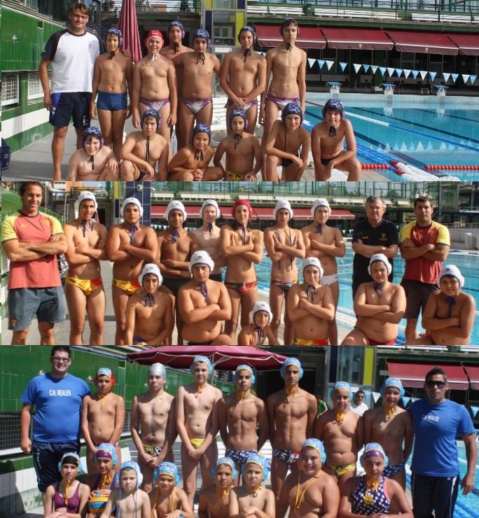 Las Palmas, Metropole y Reales, equipos participantes