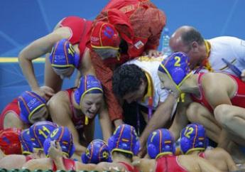 Equipo español femenino de waterpolo, londres 2012