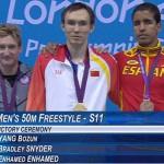 Juegos Paralímpicos. Enhamed se estrena en las medallas
