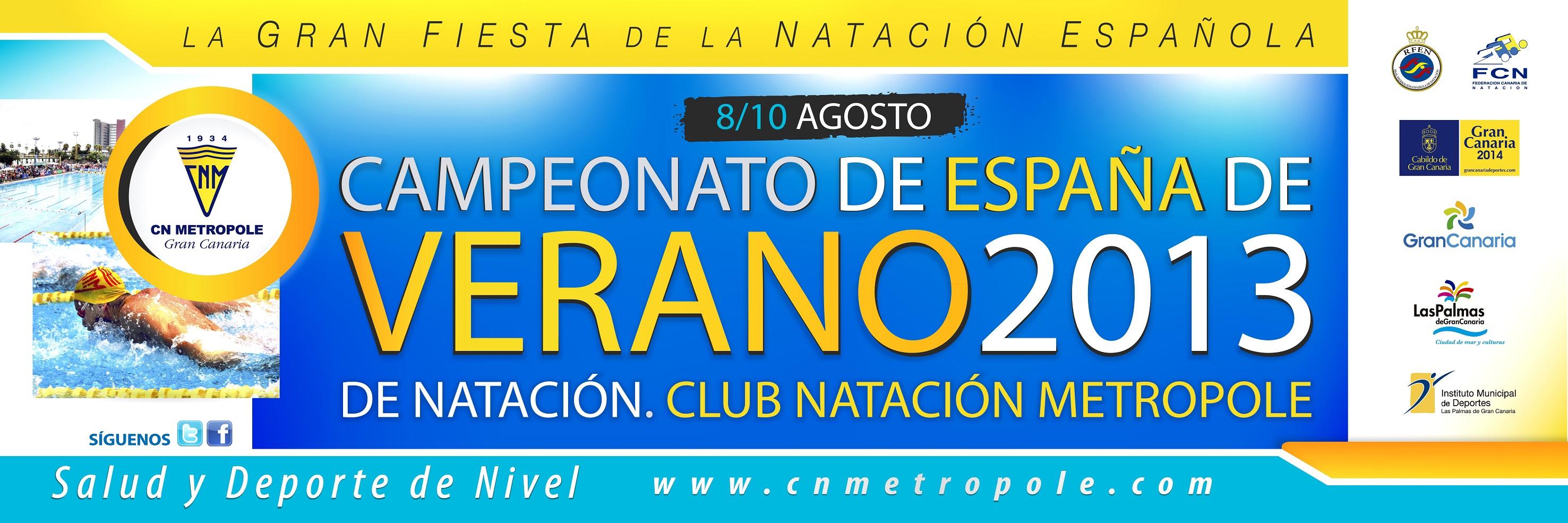Campeonato España Absoluto de Verano 2013