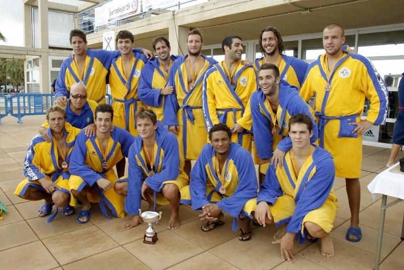 CN Atl. Barceloneta Campeones de la Copa Catalunya 2013