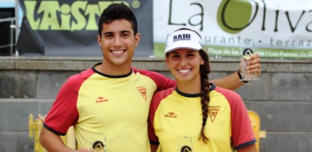 Alejandro Martín Ferrer e Irene Fleitas Imbernón