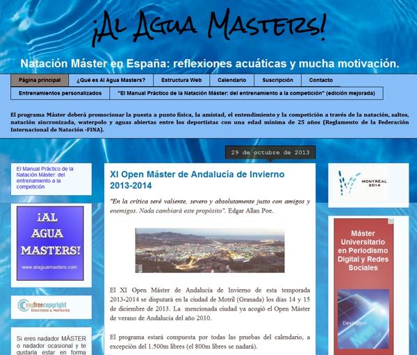!Al Agua Masters!