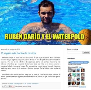 Rubén Dario y el Waterpolo