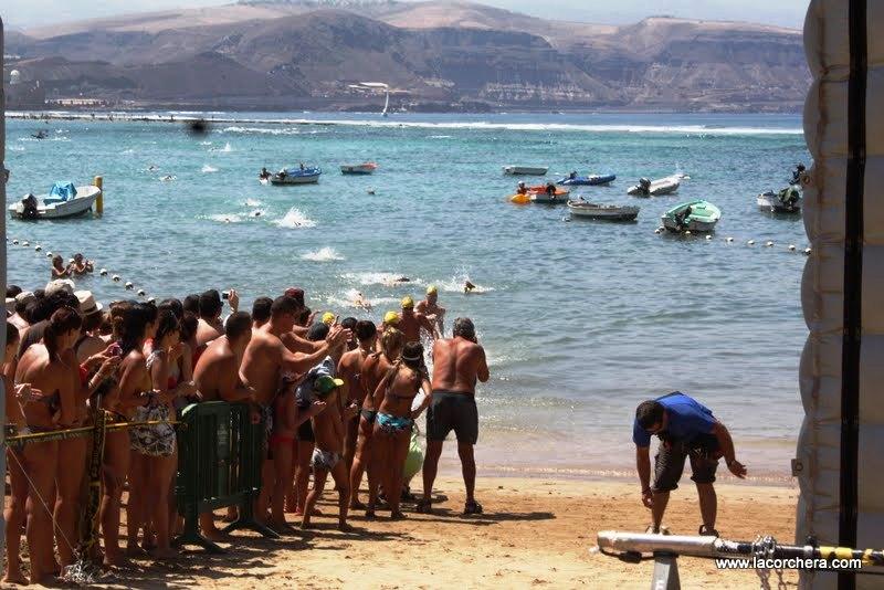 Travesía en Las Canteras (Gran Canaria)