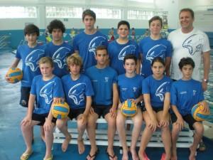 Plantilla del Club Marina Ferrol - Subcampeones
