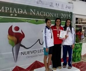 Natalia Jaspeado (en el centro) una de las protagonistas